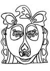 Bricolage masque de dragon