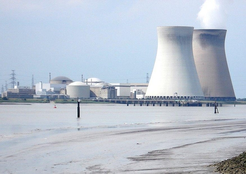 Photo centrale nucléaire
