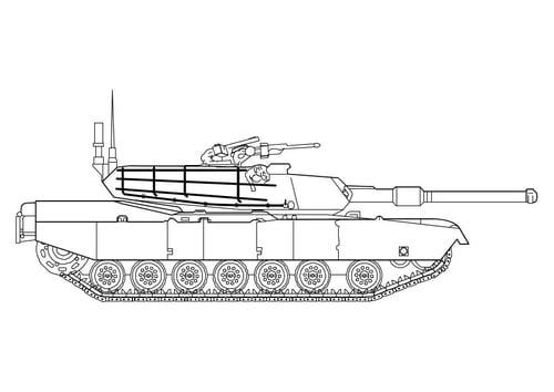 Dessin Tank