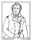 Coloriages 12 Zachary Taylor