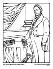 Coloriage 15 James Buchanan
