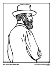 Coloriages 20 James Garfield