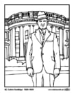 Coloriage 30 Calvin Coolidge