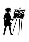 Coloriage ABC