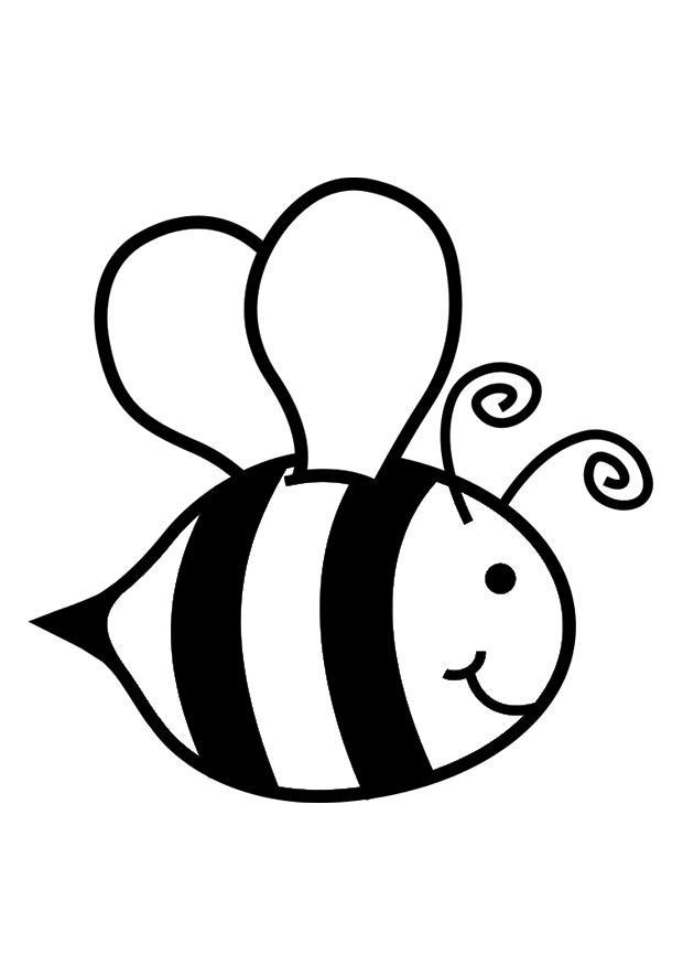 Coloriage abeille img 30016 for Immagini api per bambini