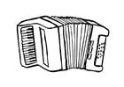 Coloriages accordeon