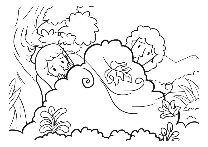 Coloriage Adam Et Eve Img 29831