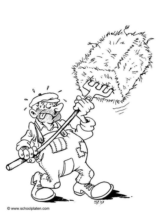 Coloriage Agriculteur Img 10382