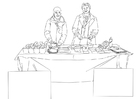 Coloriage aide alimentaire