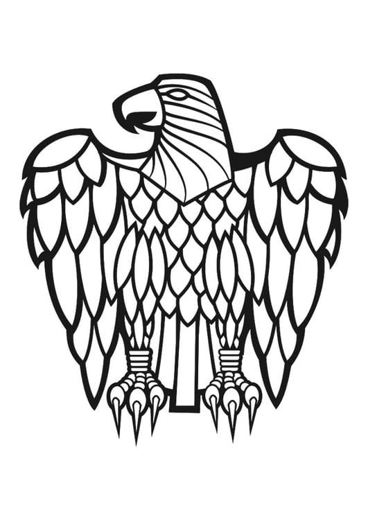 Coloriage aigle - Coloriages Gratuits à Imprimer