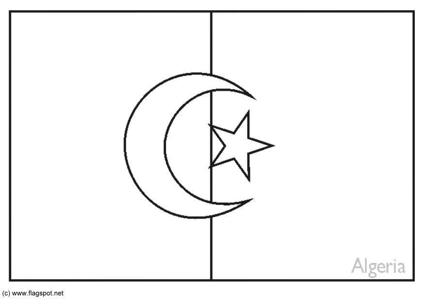 Coloriage alg rie img 6177 - Coloriage drapeau portugal ...