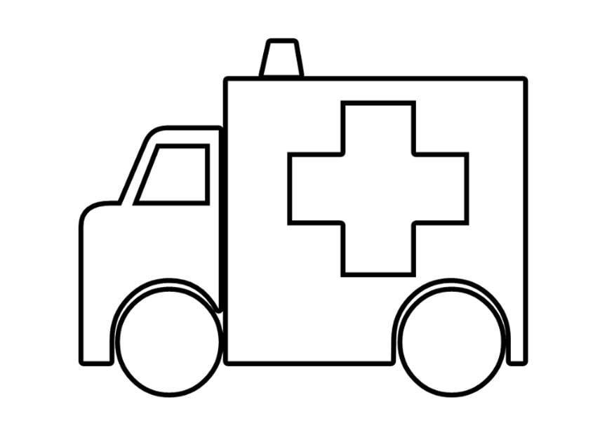 Coloriage ambulance img 22569 - Coloriage ambulance ...