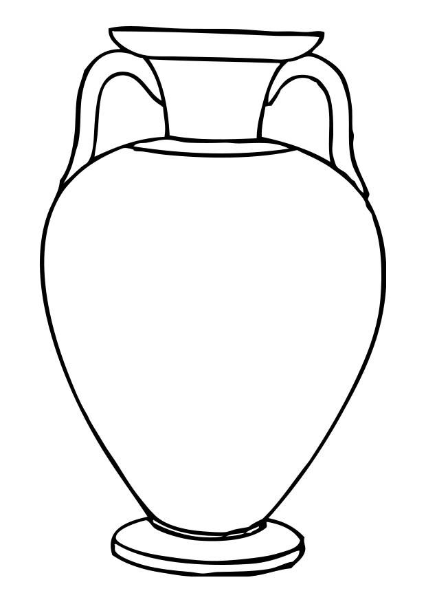 printable clay pot coloring pages - photo#46