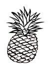 Coloriages ananas