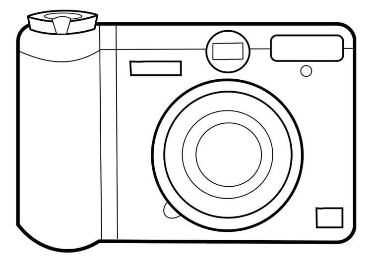 Coloriage Appareil Photo Coloriages Gratuits A Imprimer Dessin 22858