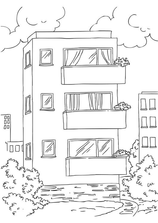 Coloriage Appartement Img 26228