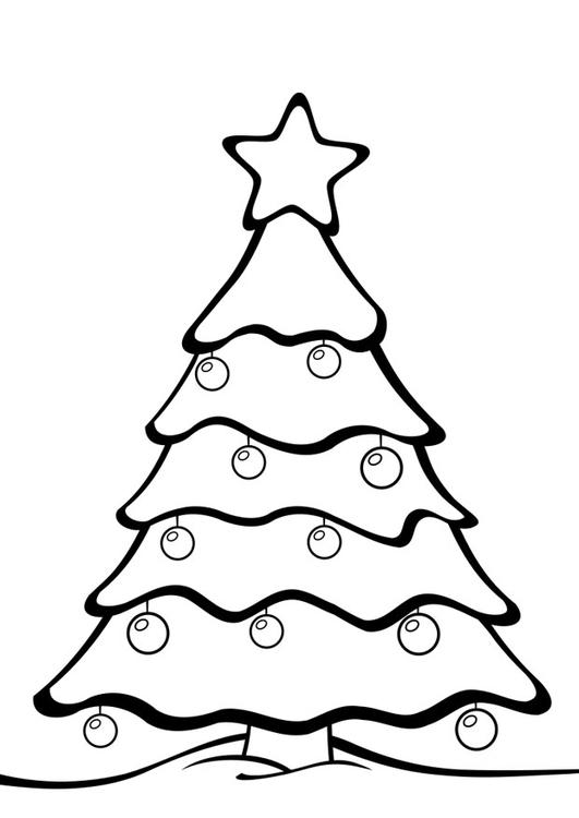 Coloriage arbre de no l img 28163 images - Arbre de noel dessin ...
