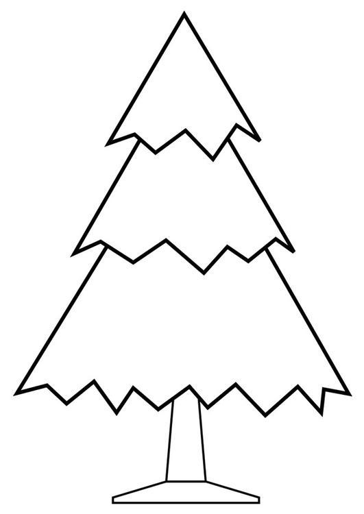 Coloriage arbre de no l img 28168 - Arbre de noel dessin ...