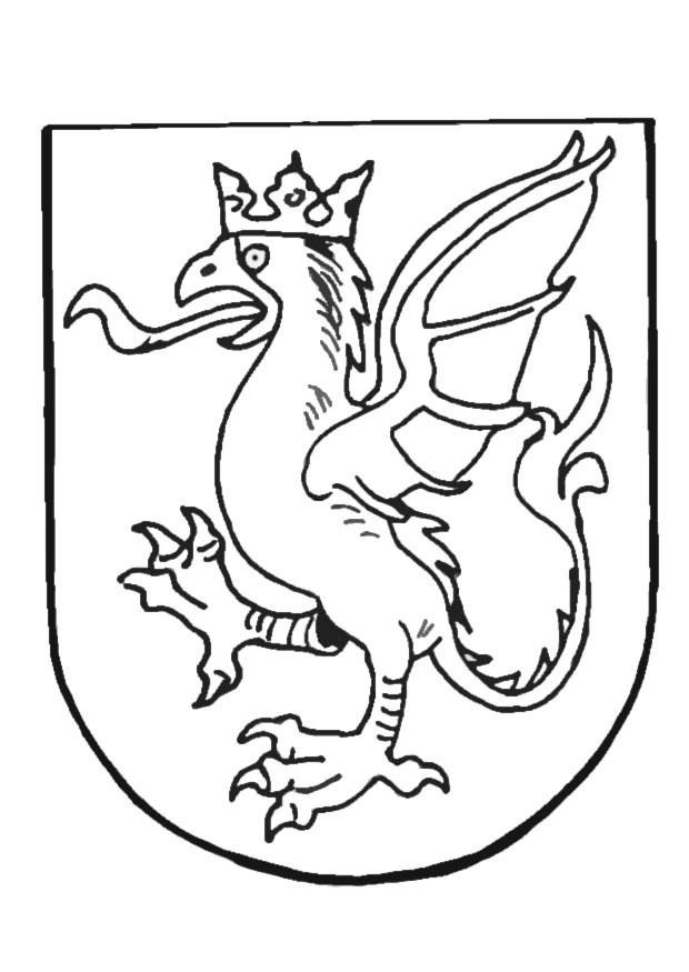 zambia coat of arms coloring pages - photo #5