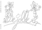 Coloriage association De Jolle