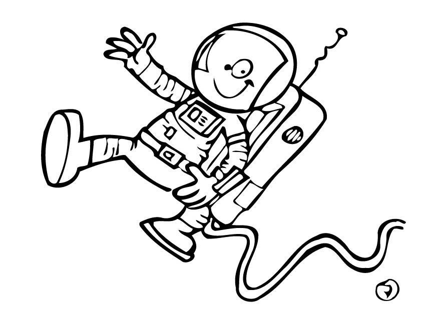 Coloriage astronaute img 12754 - Dessin d astronaute ...