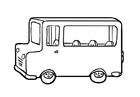 Coloriage autobus (2)