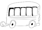 Coloriage autobus