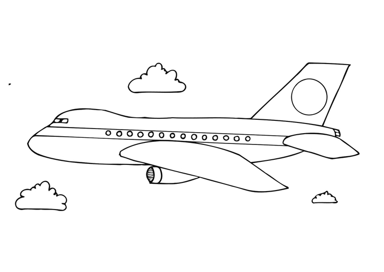 Coloriage Avion Img 12281