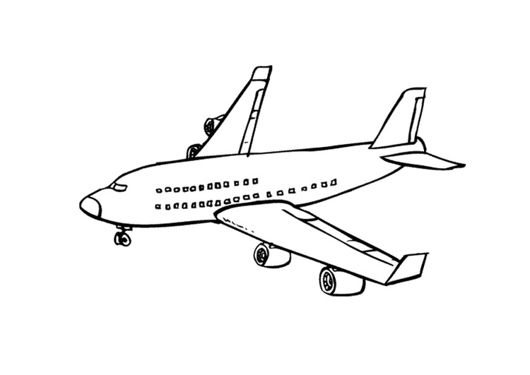 Coloriage avion img 9673 - Coloriage avions ...