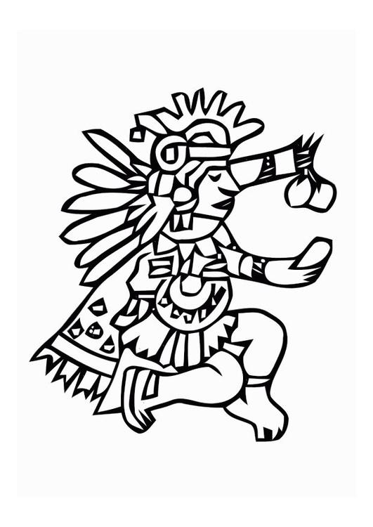 Coloriage azt ques img 11009 images - Dessin azteque ...