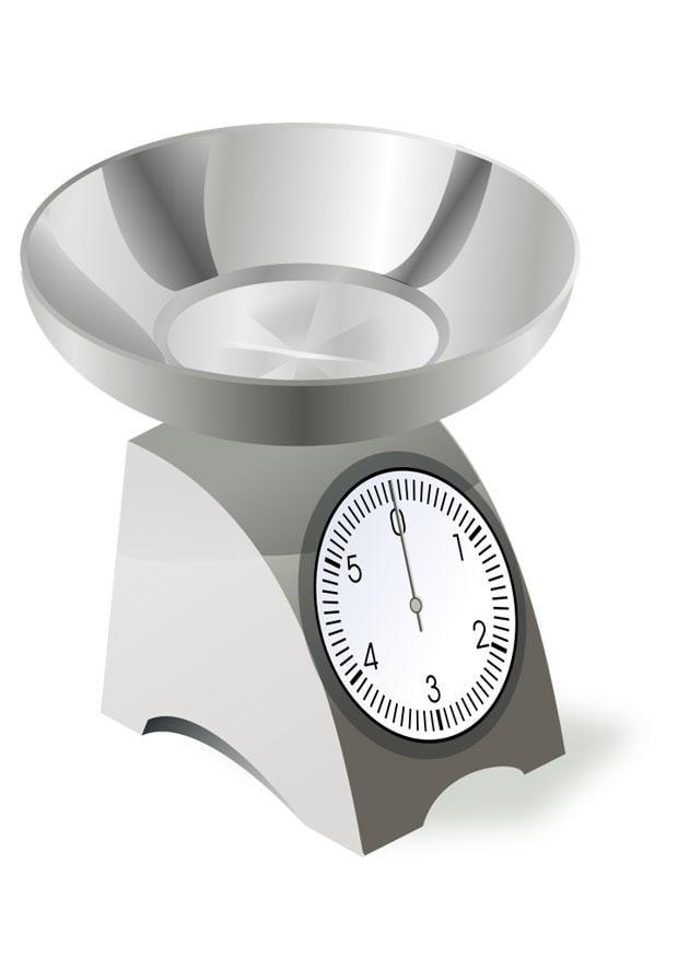 Coloriage balance de cuisine img 22533 - Dessin de balance ...