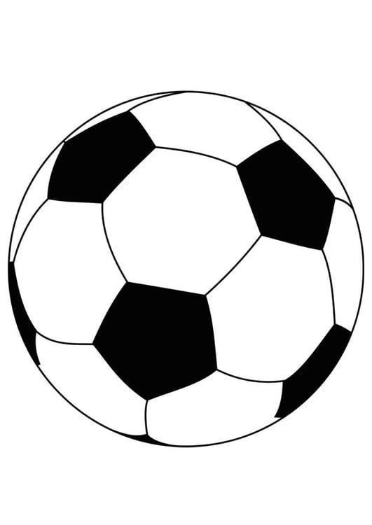 Coloriage ballon de foot img 15759 - Ballon coloriage ...