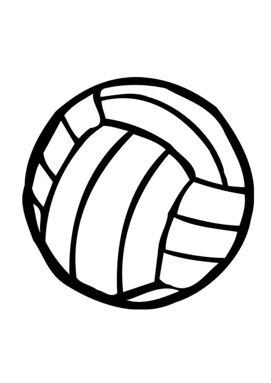 Coloriage Ballon De Volley.Coloriage Ballon De Volley Dessins Gratuits A Imprimer