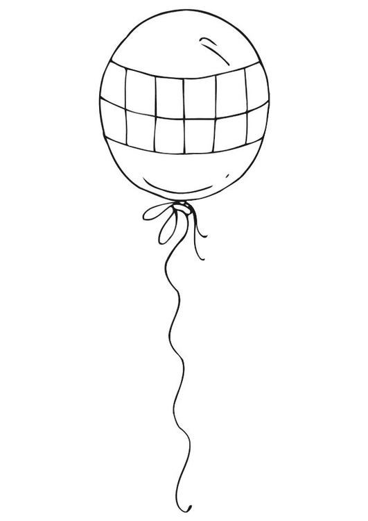 Coloriage ballon