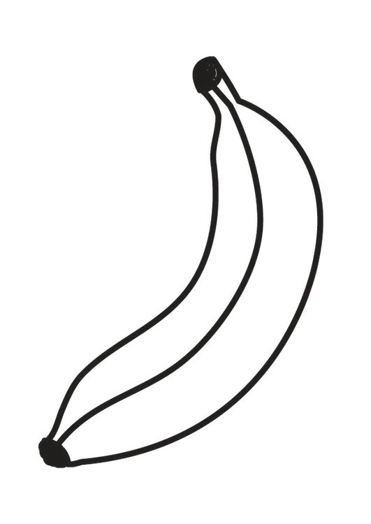 Coloriage Banane Img 23171