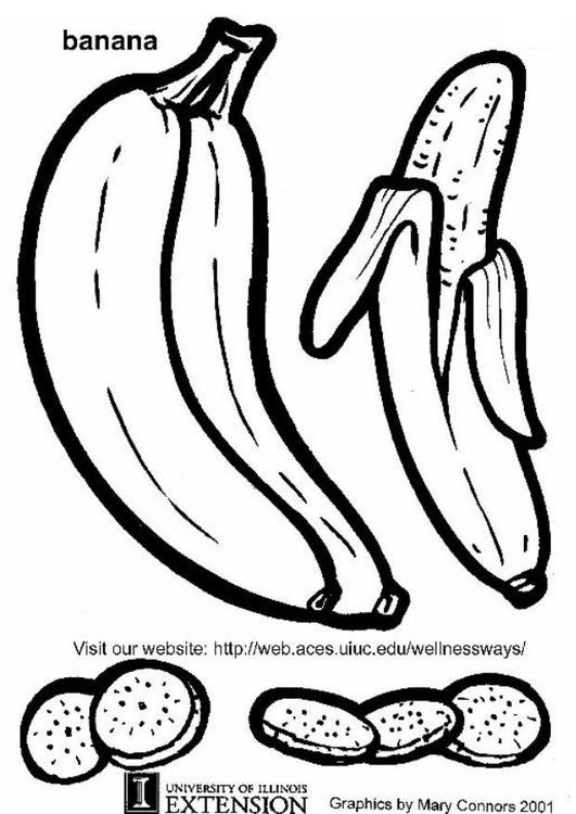 Coloriage Banane Img 5783