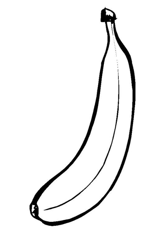 Coloriage Banane Img 9550
