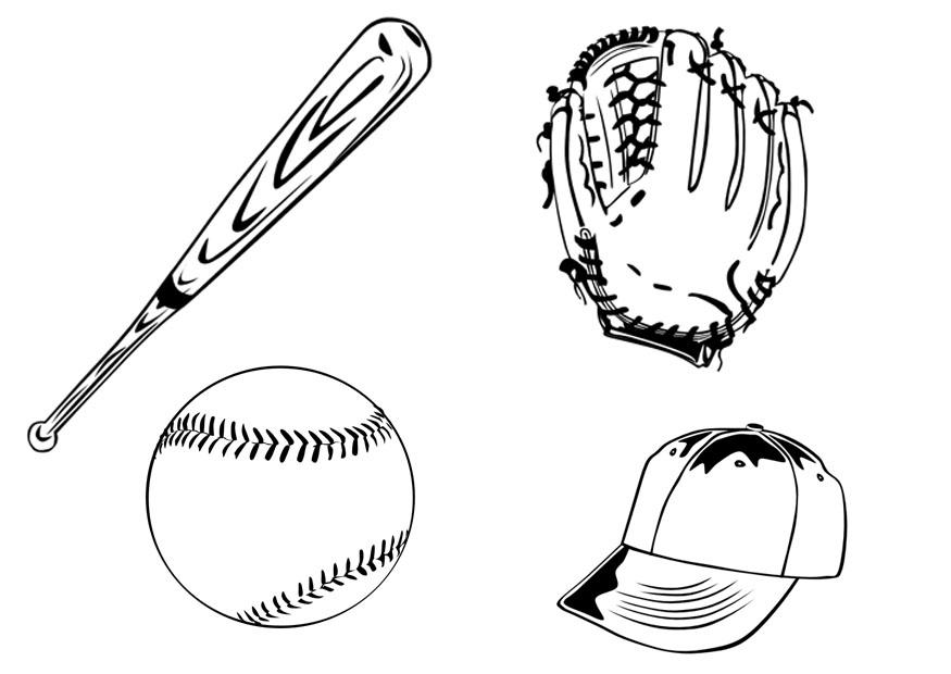 Coloring Pages Baseball - Costumepartyrun