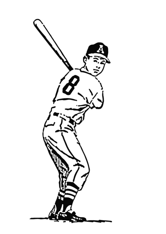 Coloriage base-ball