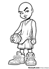 Coloriage basket-ball