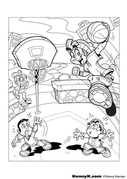 coloriage basket img 7019