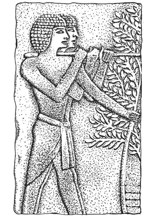 Coloriage bas relief gyptien img 13315 images - Coloriage relief ...