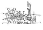 Coloriage Bateau à vapeur