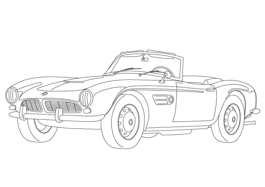 Coloriage Bmw 507 Img 9957