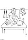 Coloriage boucher