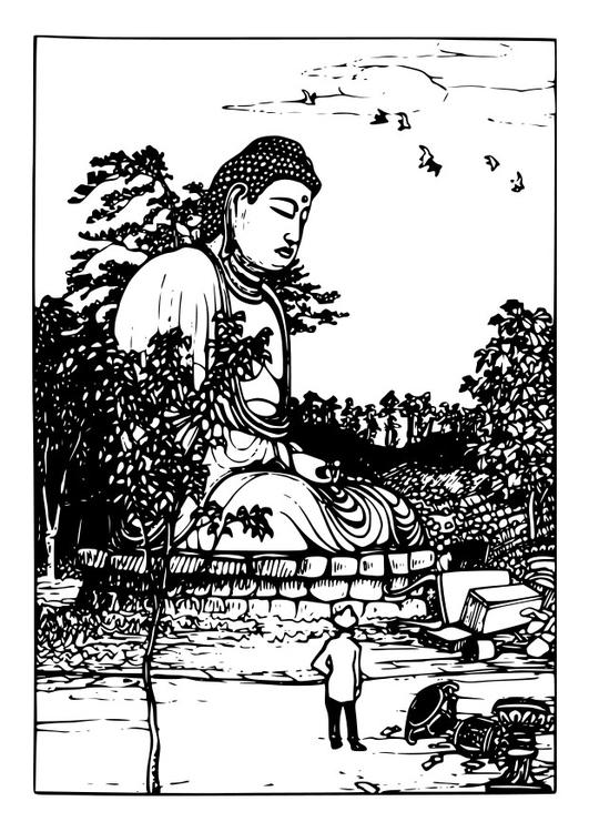 Coloriage Bouddha Coloriages Gratuits A Imprimer Dessin 26352