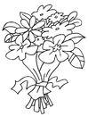 Coloriages bouquet