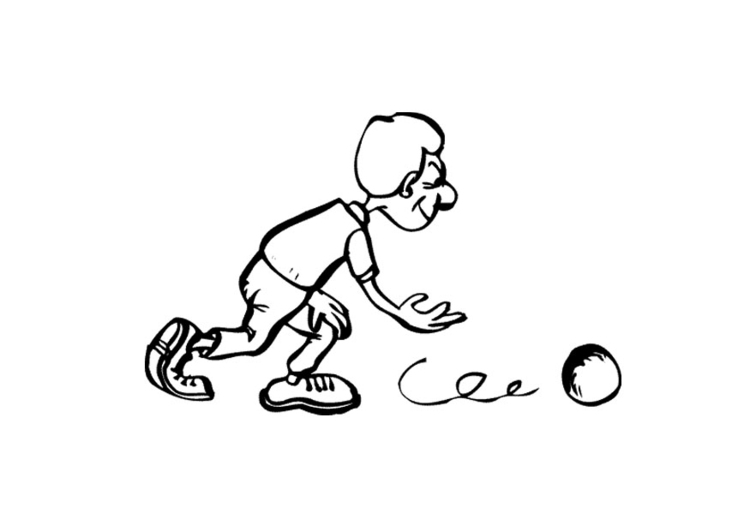 Coloriage bowling img 12028 - Bowling dessin ...