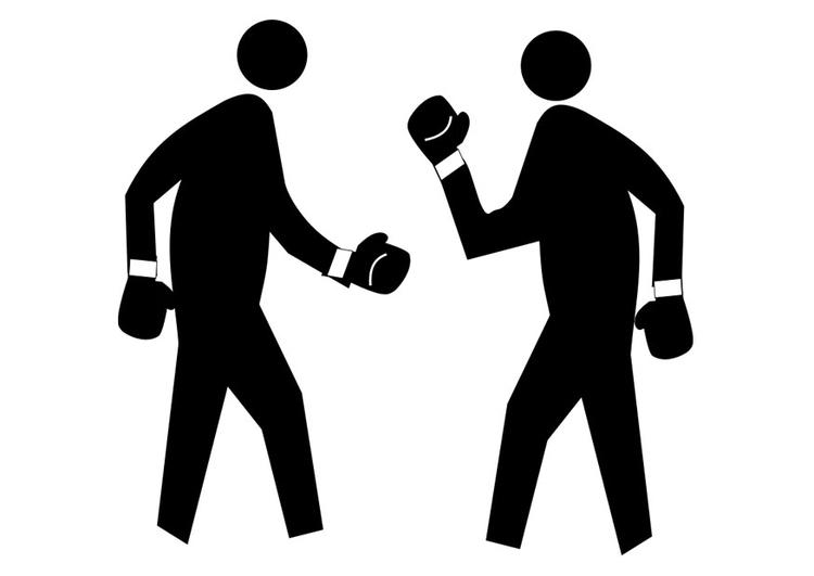 Coloriage boxer img 29445 - Coloriage boxer ...