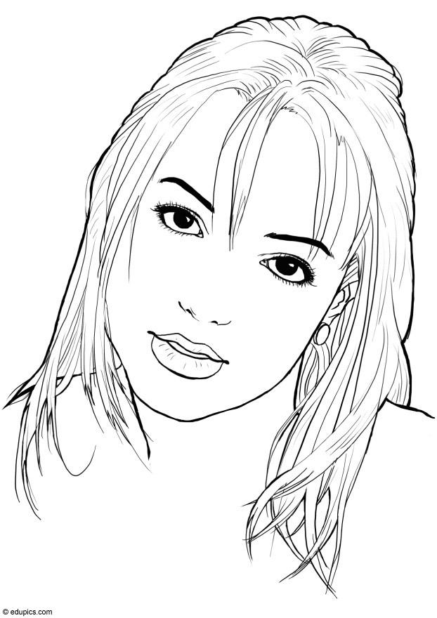 Draw So Cute Kleurplaten Coloriage Britney Spears Img 15411